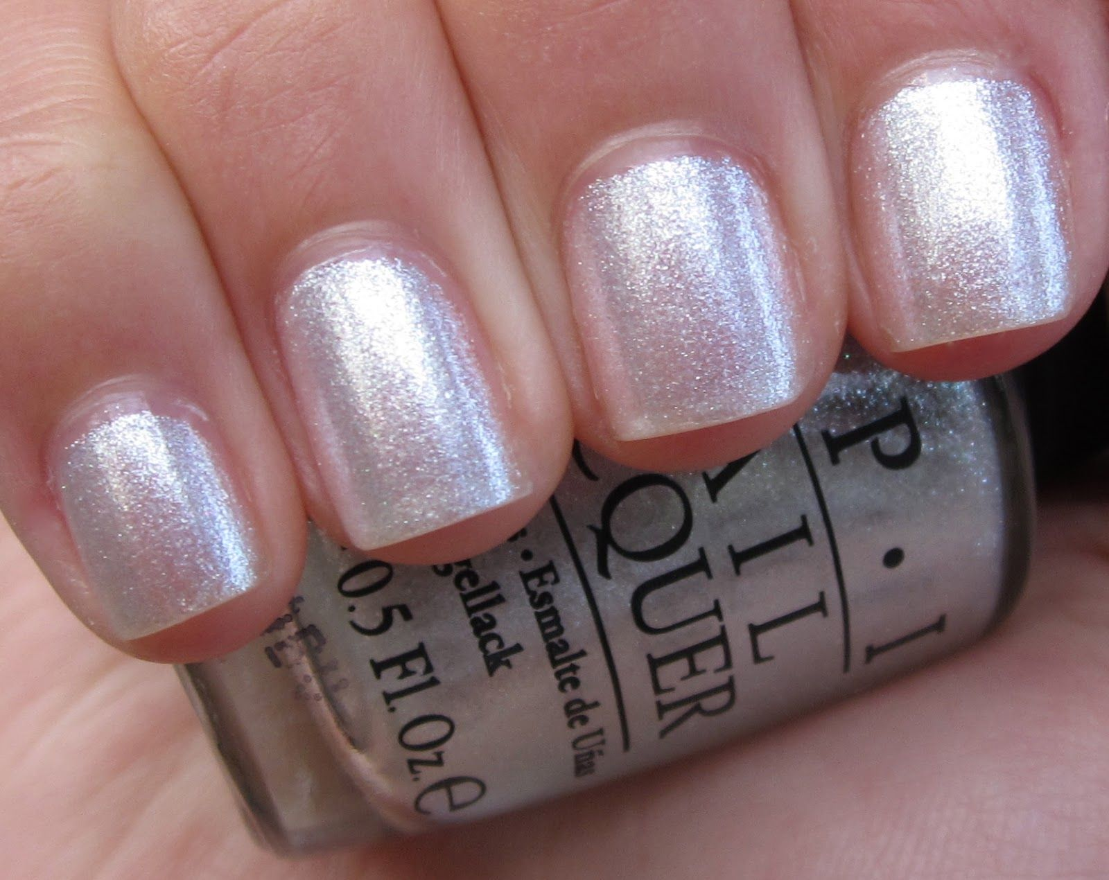 My all time favorite nail color opi happy anniversary girl