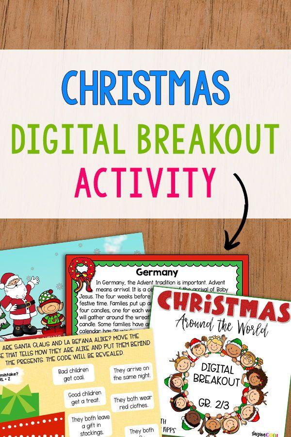Christmas Around the World Digital Breakout Grades 23