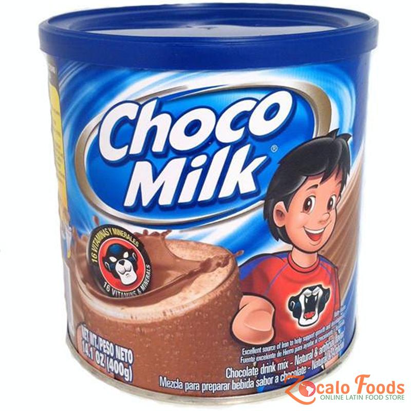 Choco Milk Chocolate Drink Mix 14.1 oz Mixed drinks