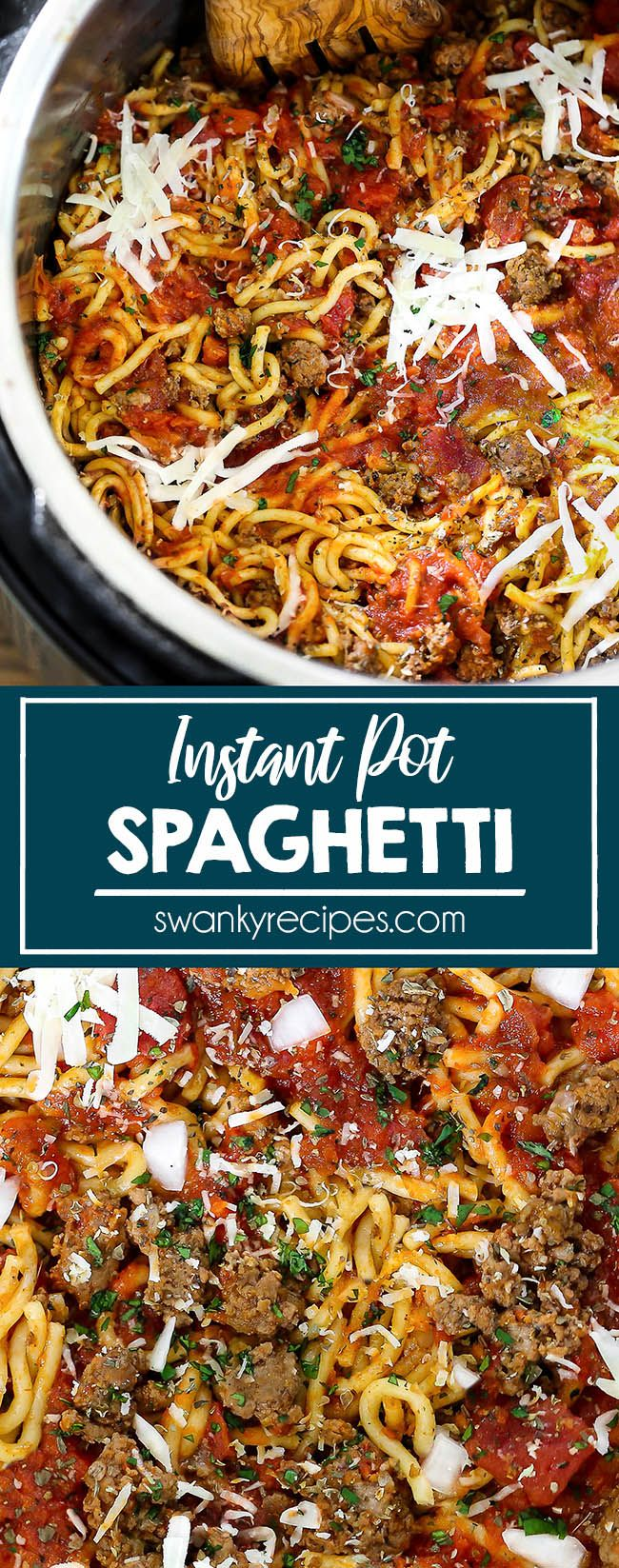 Instant Pot Beef Spaghetti images