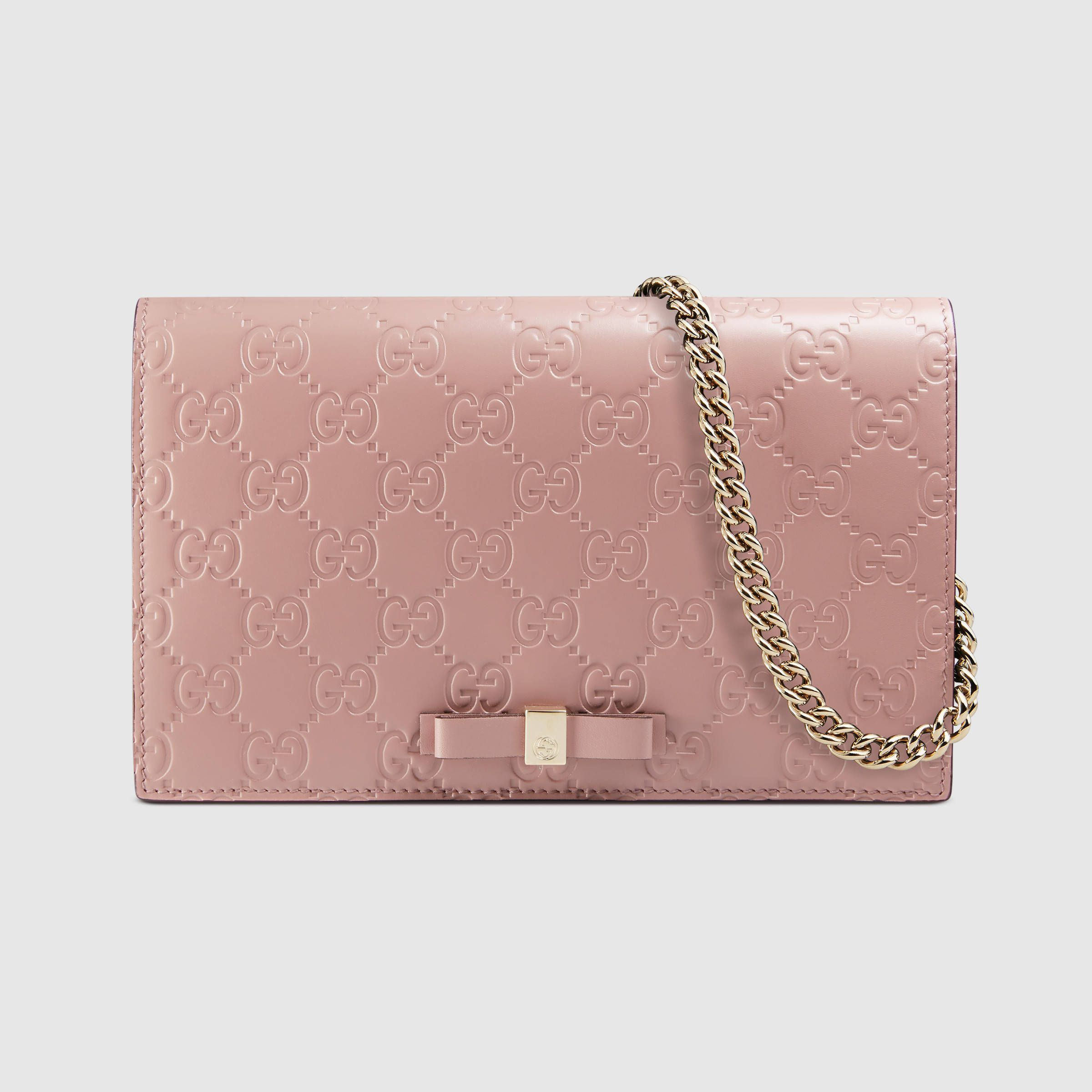 aaa081dc3 Gucci Signature mini bag $ 895 pink   Things I want in 2019   Bags ...