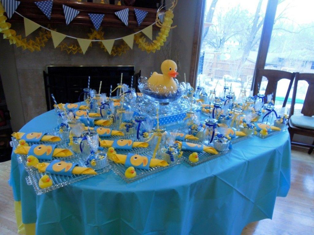 Baby Shower Temas Para Niño ~ Rubber ducky baby shower decorations ducky baby shower ideas