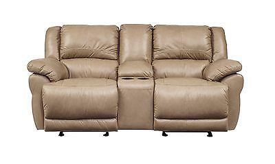 Ashley Lenoris Top Grain Leather Reclining Sofa And Loveseat U98904 Furniture Love Seat Leather Reclining Sofa