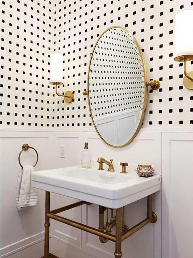 $500 Powder Room Makeover Challenge | In Honor Of Design