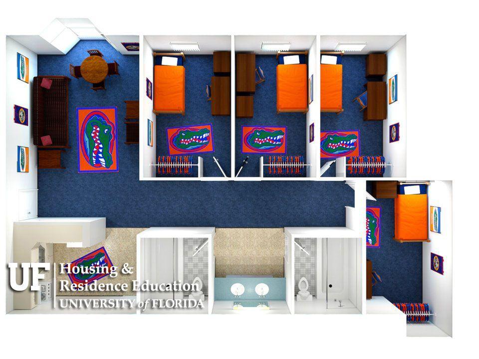 Keys Apartment Top View UF Apartments Pinterest – University Of Florida Housing Floor Plans