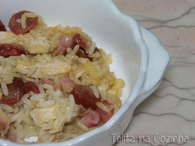 Telita na Cozinha: arroz de frango no forno