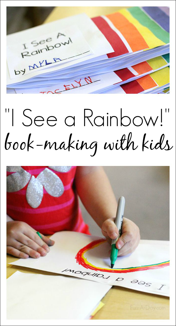 I See a Rainbow Preschool Color Activity Preschool colors