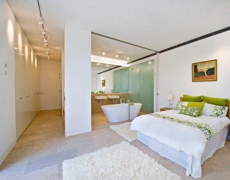 Dormitorios Con Vestidor Y Bano 50 Opciones De Diseno