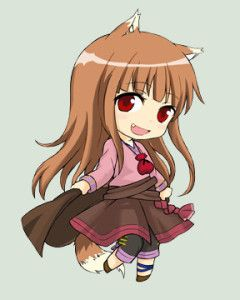 Spice and Wolf - Holo by yukate on DeviantArt