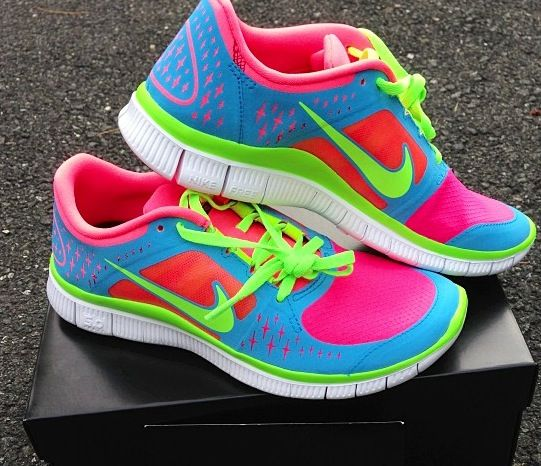 Nike Free Run+ 3 multicolor