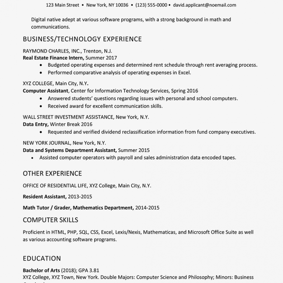 11 Scholar Grader Resume