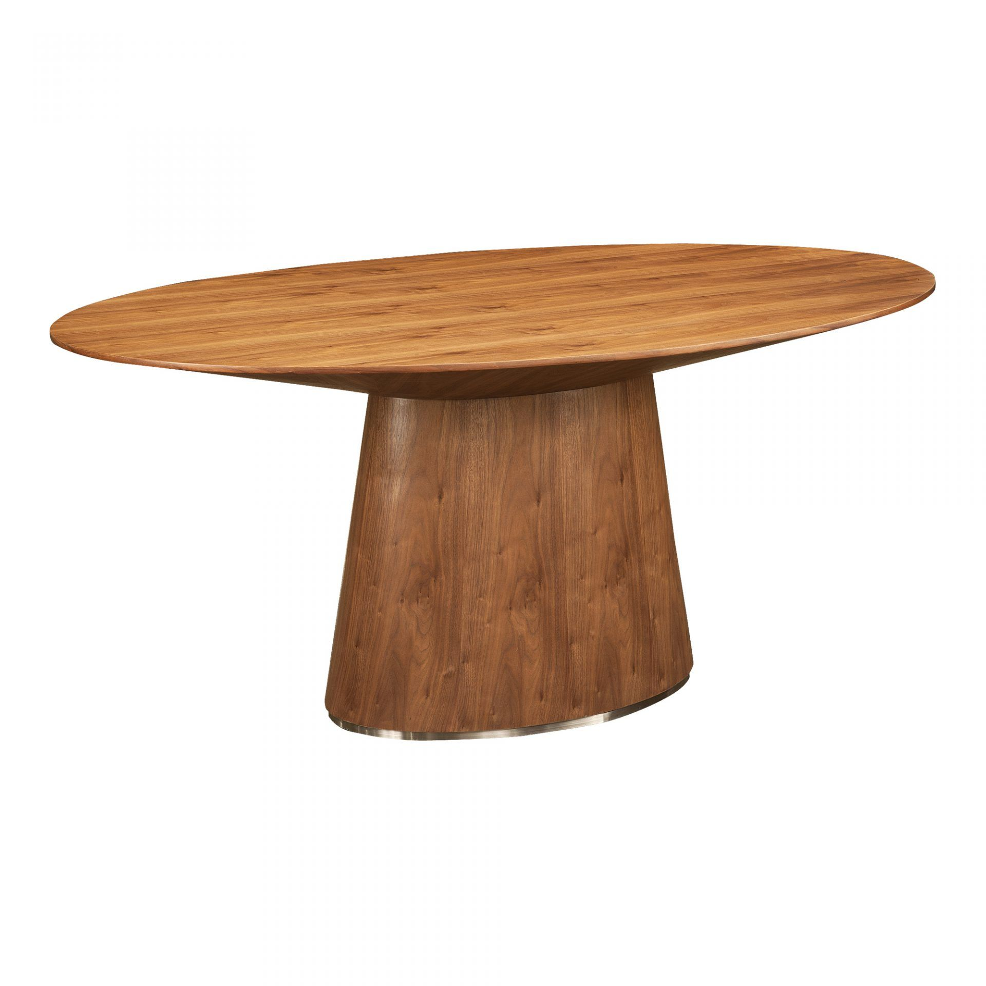 Otago Oval Dining Table Walnut Oval Table Dining Dining Table Moe S Home Collection