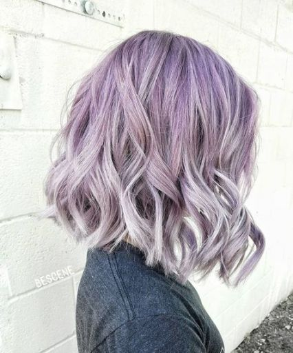 Super hair silver lavender haircuts 56+ Ideas -   11 lavender hair Silver ideas