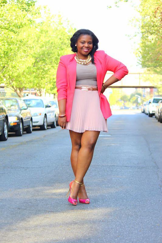 30 Neva Looked So Pink Fashion Curvy Girl Fashion Plus Size