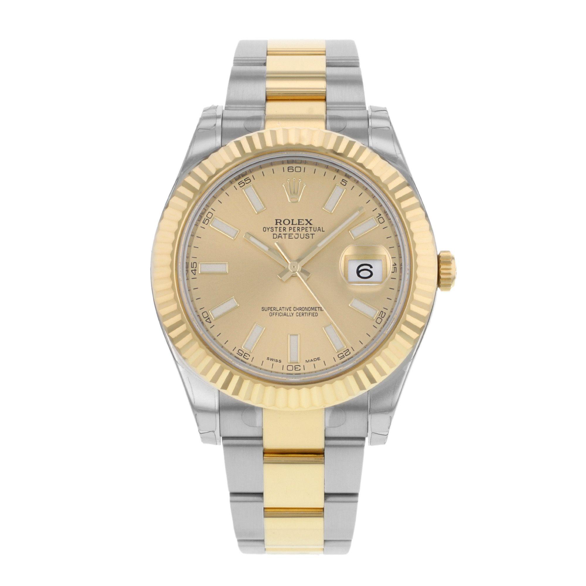 Rolex Datejust II 116333CHIO