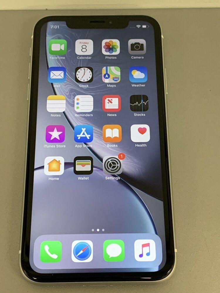 Used Mint Apple iPhone XR 64GB White (Unlocked