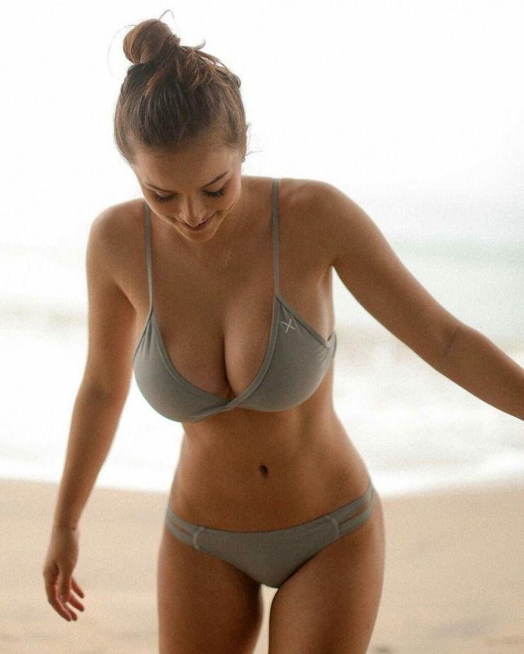 Skinny bikini tiny tits girls