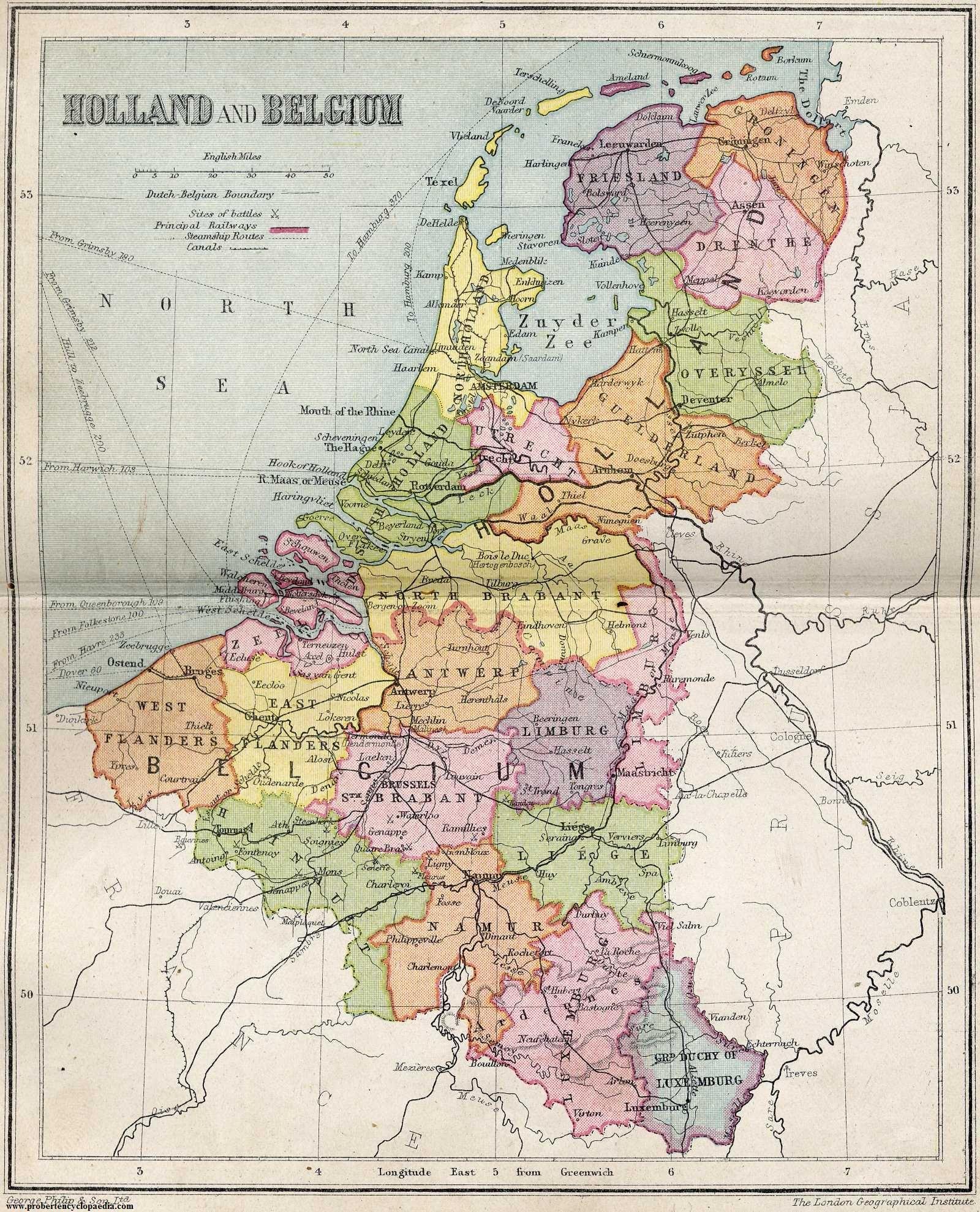 Historic Map Netherlands Index Of Genealogy History Maps