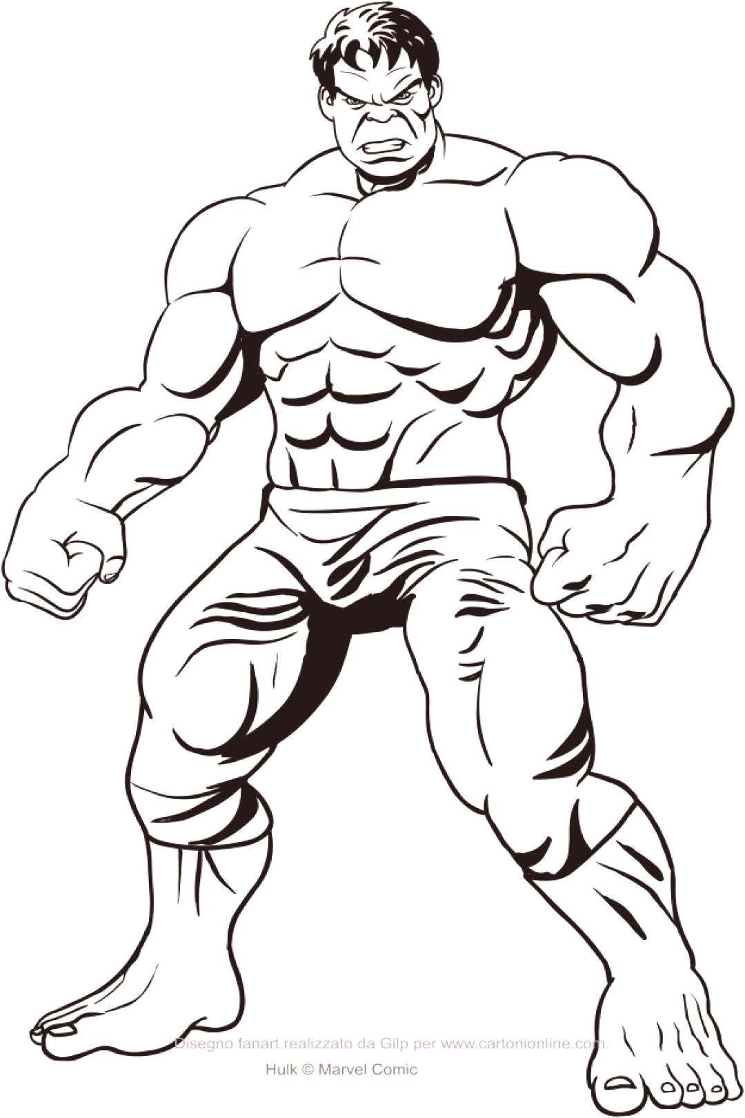 front hulk malvorlagen  in 2020  superhelden malvorlagen