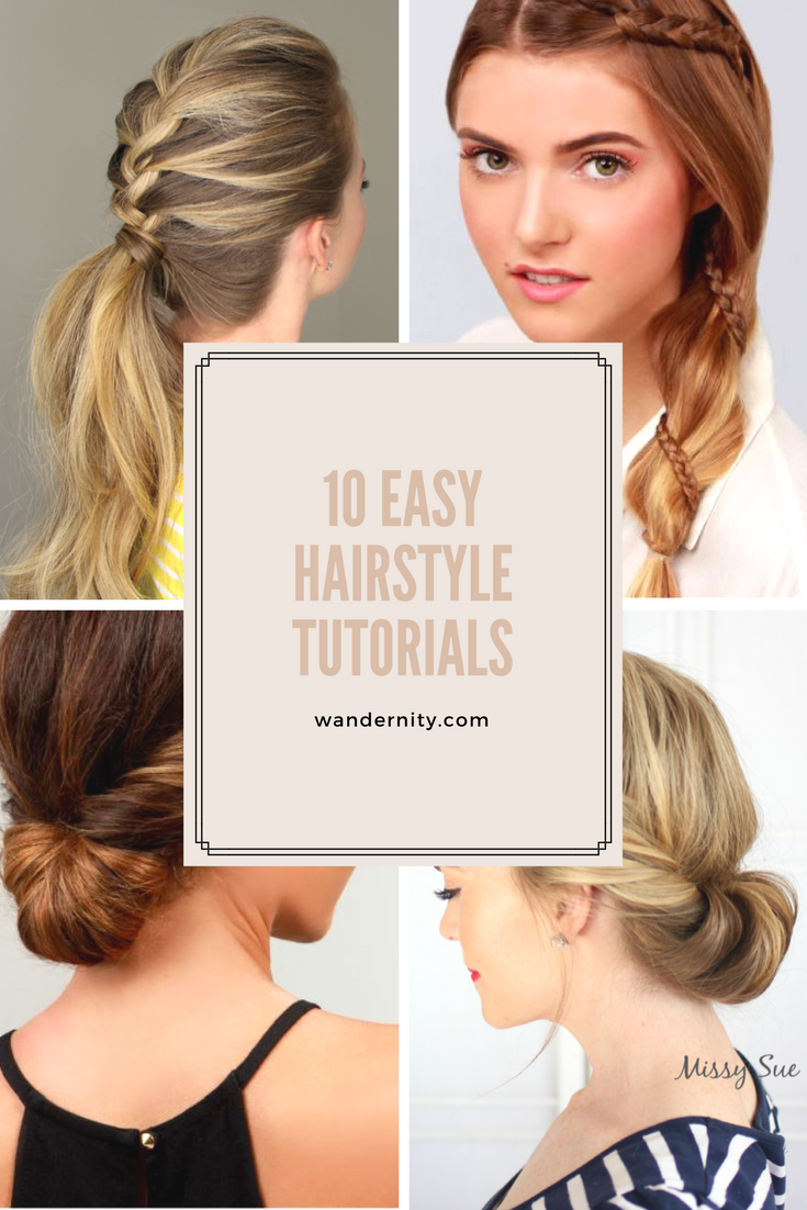 diy hairstyle tutorials beauty ideas tutorials and ponytail
