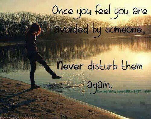 Dont Avoid Someone Quotes Quotes Sad Love Quotes Sad Quotes