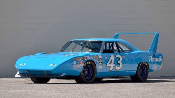 Pair of Petty NASCAR Plymouths head to auction in Harrisburg