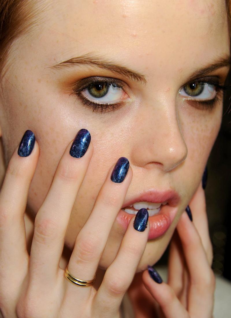 Starry Night Nail- Rachel Antonoff Fall 12 | Nails Portfolio | Pinterest
