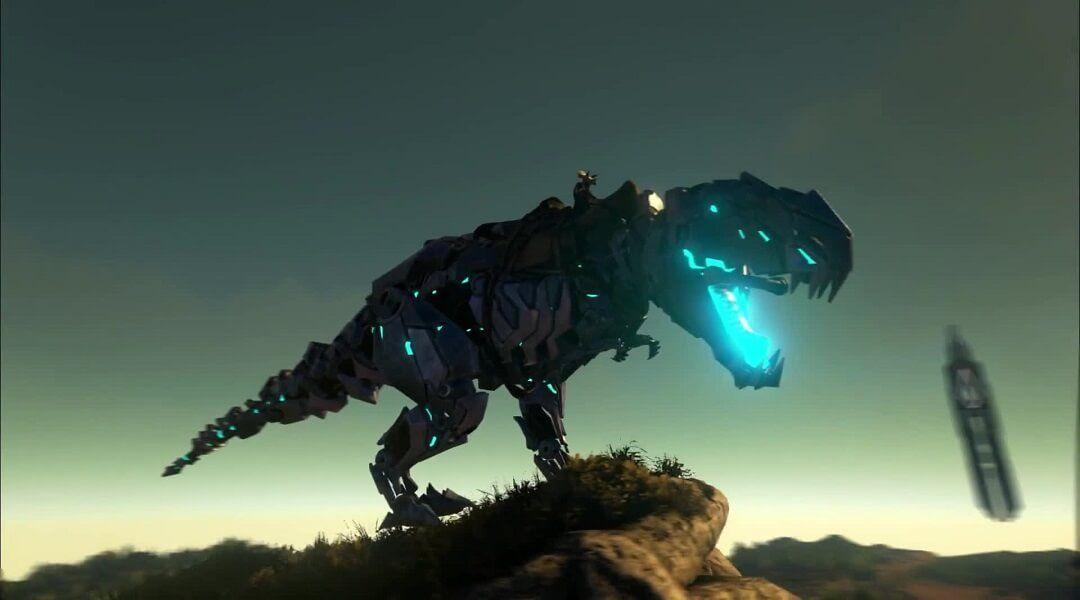 Ark Survival Voila Un Dinosaure Robot Dans Le Jeux Beast Jeux