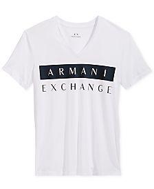 64bc1aaf5e7 Armani Exchange Men s Graphic-Print T-Shirt.