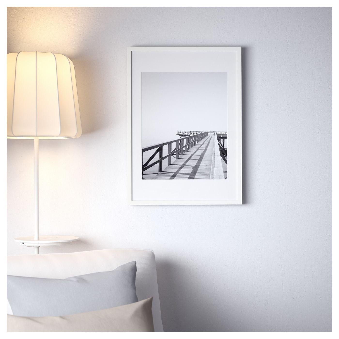 IKEA RIBBA White Frame Ikea, Ikea frames, Ribba frame