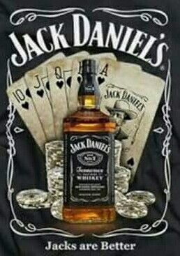 JACK DANIELS bouteille /& Pool Cue Métal Signe Plaque Man Cave Rétro Pub Bar Garage