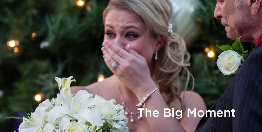 When a 'church photoshoot' becomes a girl's dream wedding!  http://m.huffpost.com/us/entry/6396366