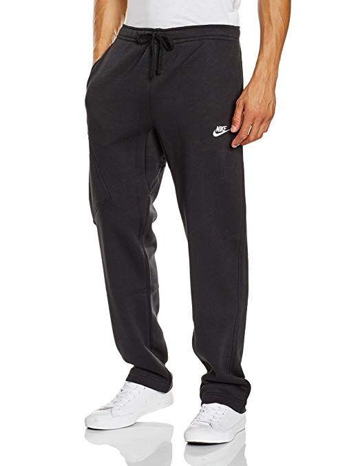 9e6f49624120 Nike Mens Open Hem Fleece Pocket Sweatpants Review