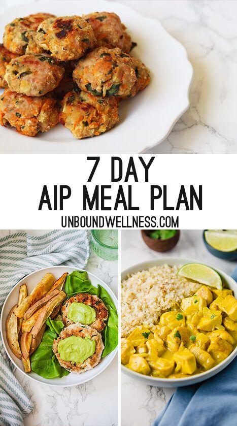 My Paleo, AIP Meal Prep Plan for a Week #ketomealplan