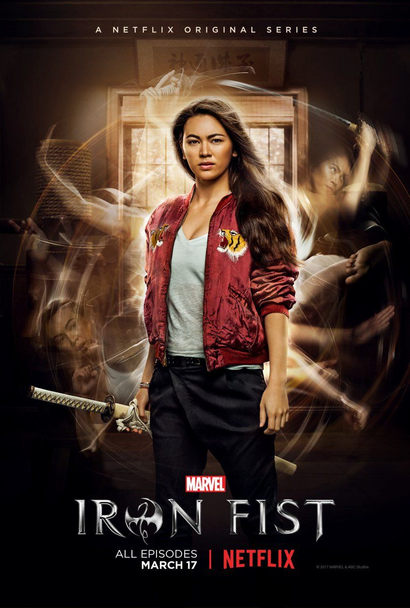 fist iron jessica colleen wing henwick marvel netflix poster character jones series comics comicbookmovie saved gets own films dc universe