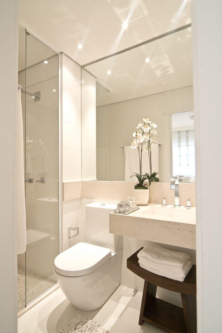 decoração de banheiros e lavabos - Pesquisa Google | Bath design ...