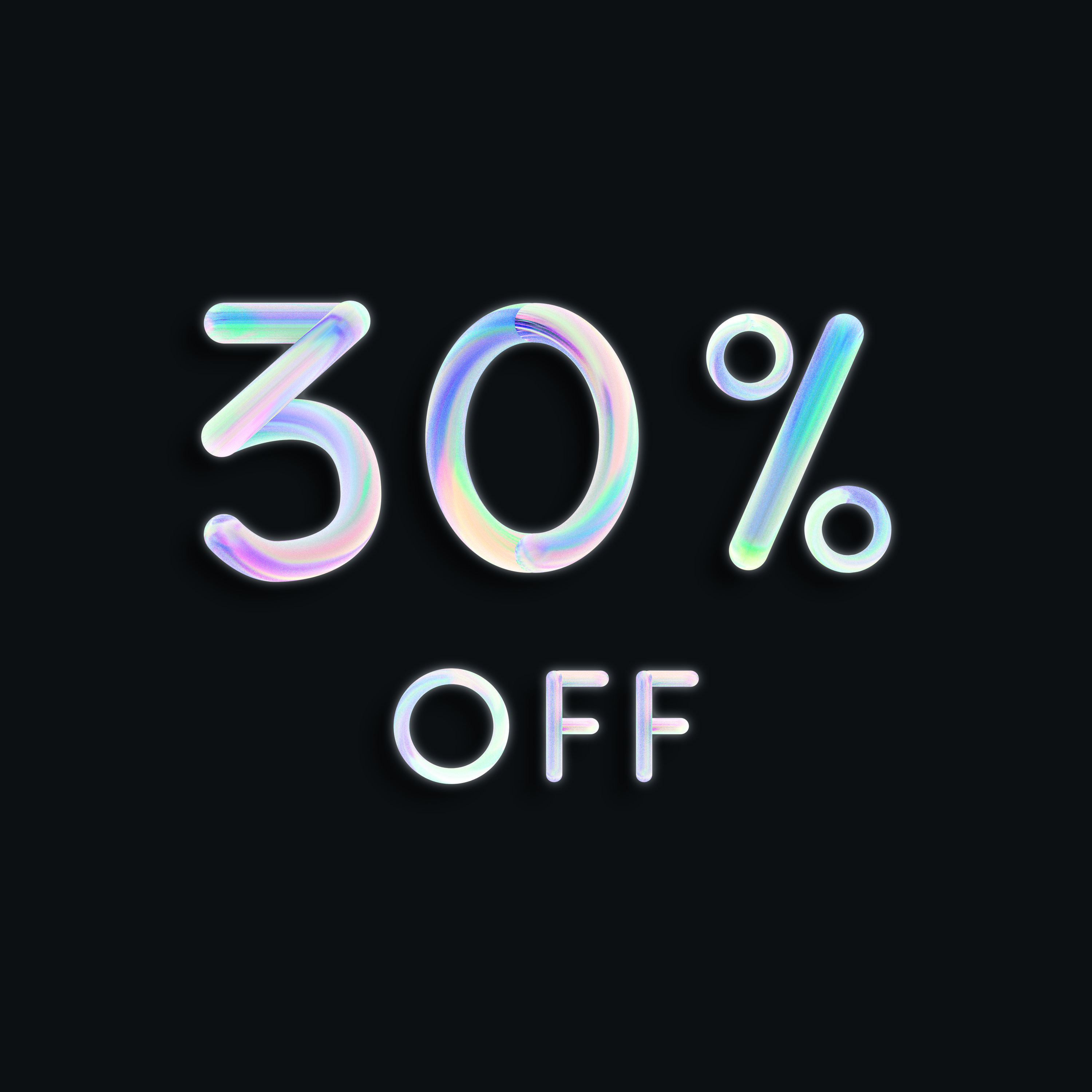 30 Off Neon 3d Lettering Ankreative Discount Neon