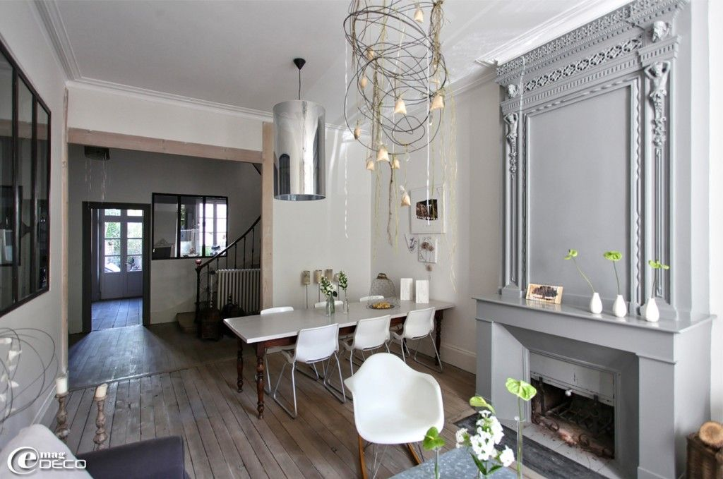 Belle d co entr e maison bourgeoise - Idee deco entree appartement ...