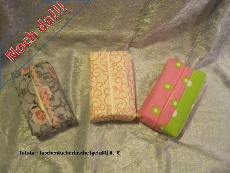 Tatüta - Taschentüchertasche  von artsbysue auf DaWanda.com
