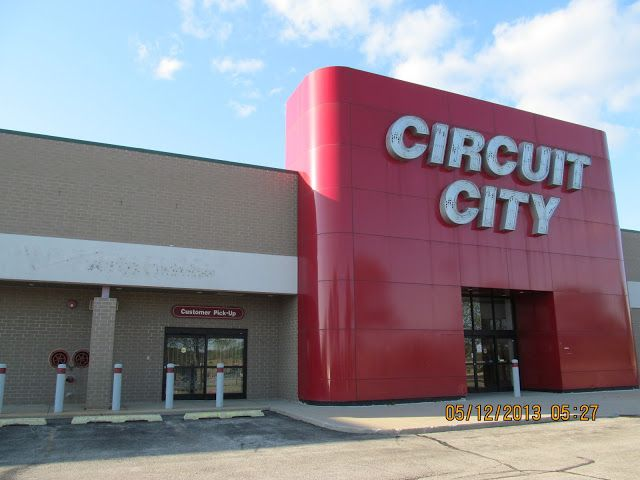 Trip To The Mall Former Circuit City In Rockford Illinois