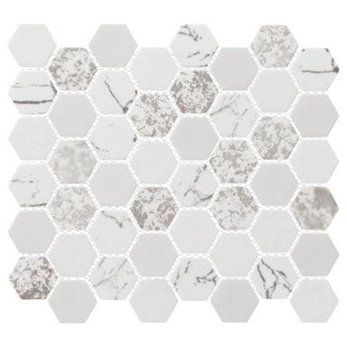 Mozaika Alttoglass White Stone Plytki Lazienkowe W Atrakcyjnej Cenie W Sklepach Leroy Merlin Stone White Stone Tiles