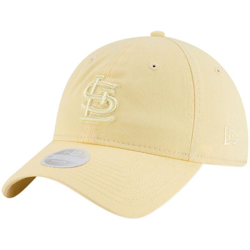 finest selection 167a0 d6c74 St. Louis Cardinals New Era Women s Core Classic 9TWENTY Tonal Pastel Adjustable  Hat – Yellow