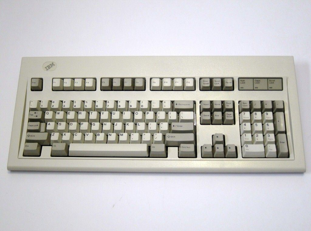 ibm model m the most amazing keyboard in the history of computing it is also very clicky. Black Bedroom Furniture Sets. Home Design Ideas