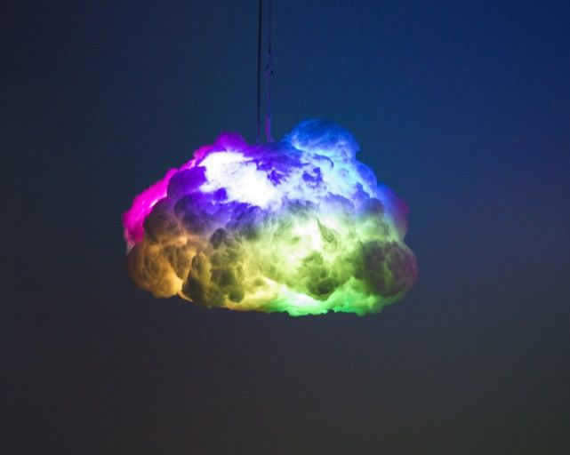 The Cloud Lamp Creates A Thunderstorm Inside Your Bedroom And It S The Coolest Thing Ever Cloud Lamp Lamp Installation Romantic Bedroom Decor