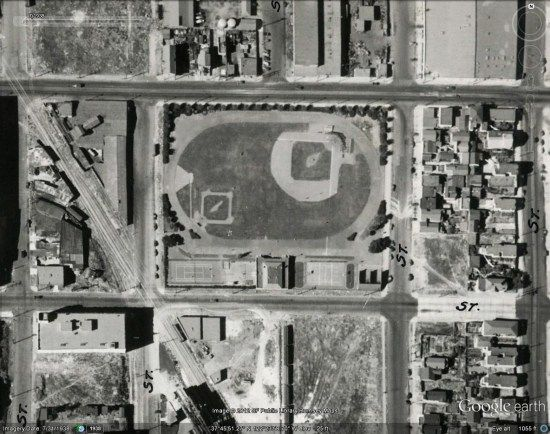 Introduced in Google Earth 5 a few years ago, historical imagery