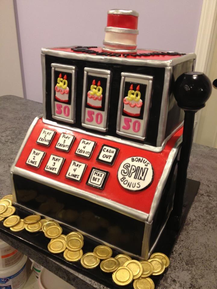 Birthday Cakes - * | Looks Real | Casino cakes, Slot machine cake, Cake