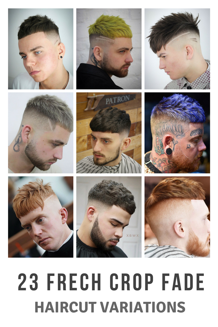 French Crop Fade 2018 Awesome Mens Haircut Variations Haircuts