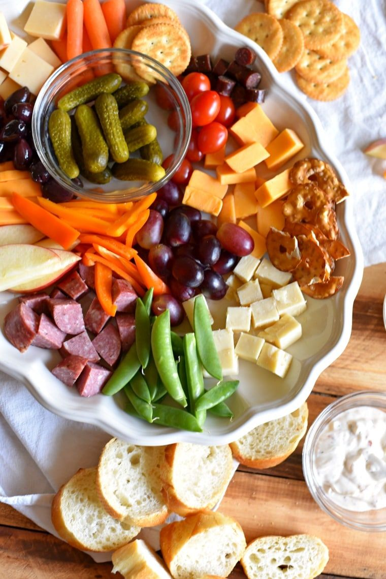 How to Make A Kid Friendly Charcuterie Board Appetizer