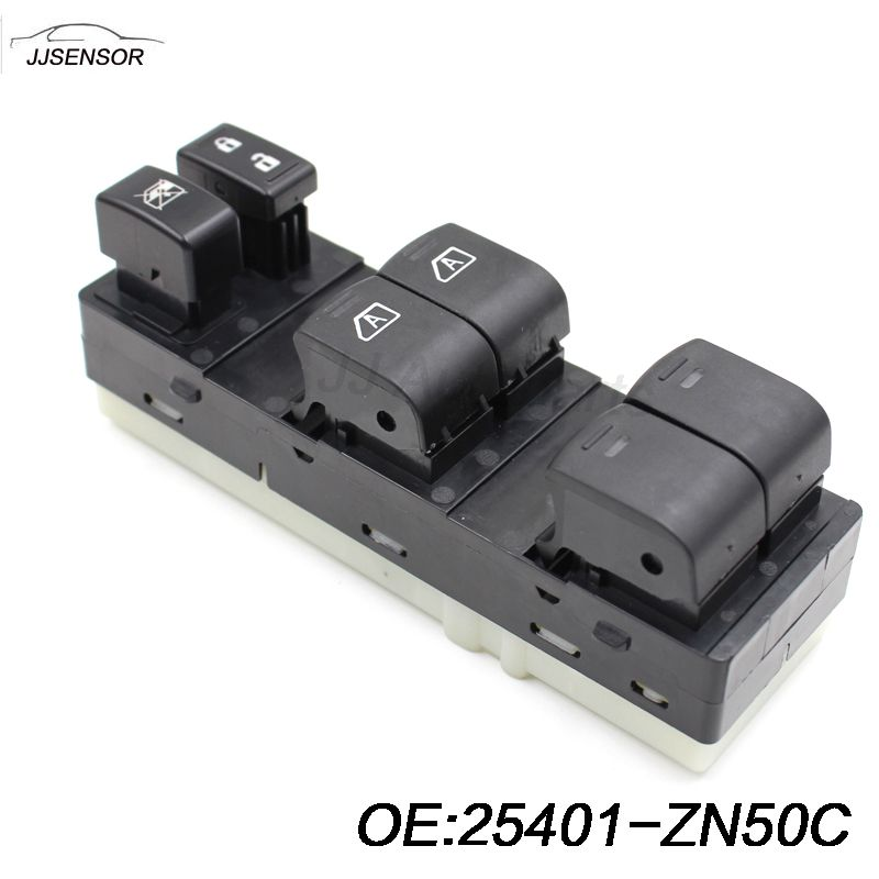 New Power Window Left Master Switch Front Left 25401 Zn50c
