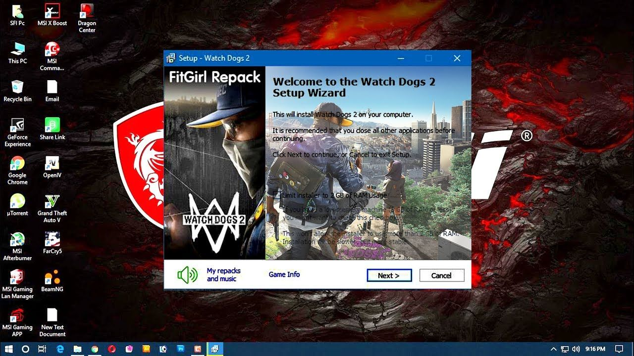 Watch Dogs 2 Download And Install 2018 ✪ Low End PC # Games